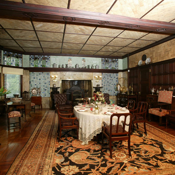 George Noble Jones House (Kingscote) (dining room)