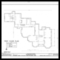 George Noble Jones House (Kingscote) (floor plan)